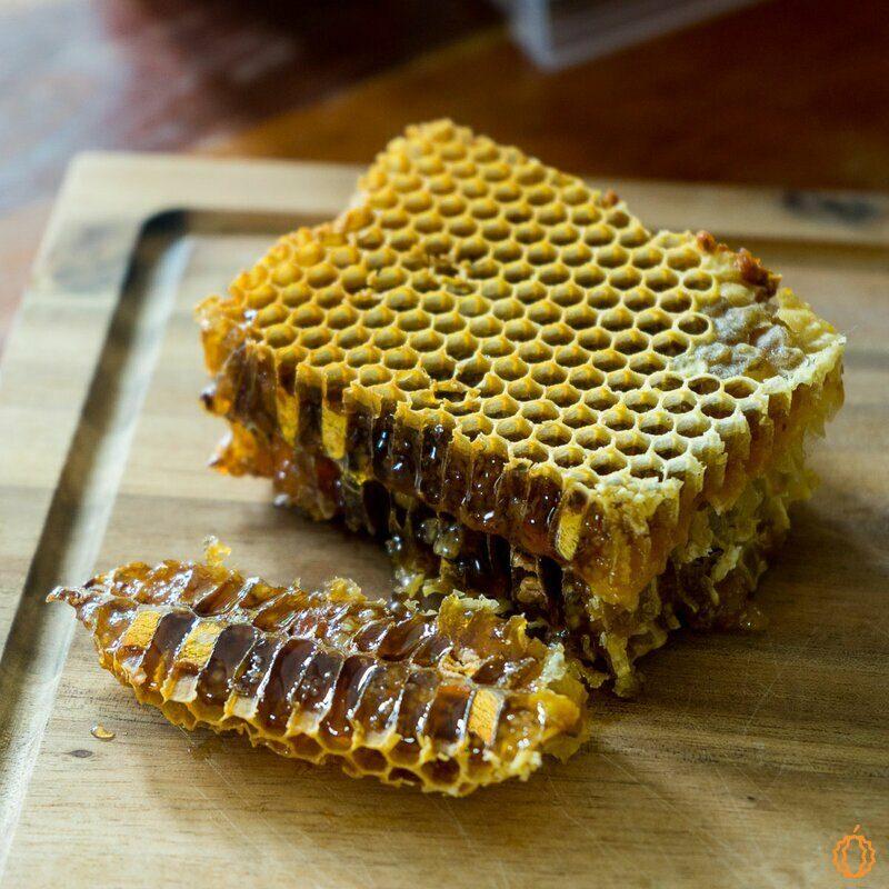 Bee Pollen Comb Honey (Honey & Pollen)