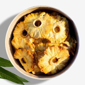 Pineapple dried organic & raw 300g