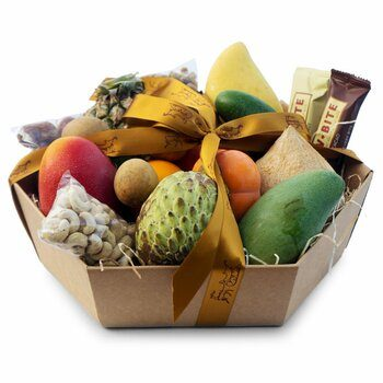 Exotic Fruit Basket Big Gourmet