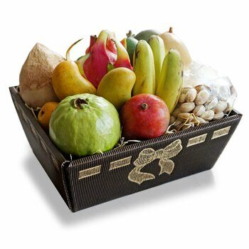 Exquisite Exotic Fruit Basket