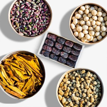 Nuts & Dried Organic Fruits Bundle Small organic & raw