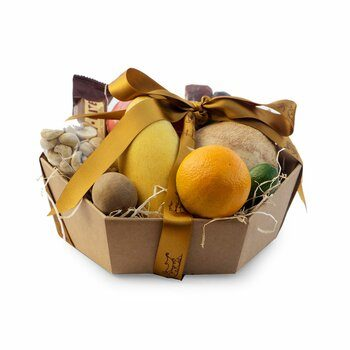 Exotic Fruit Basket Small Gourmet