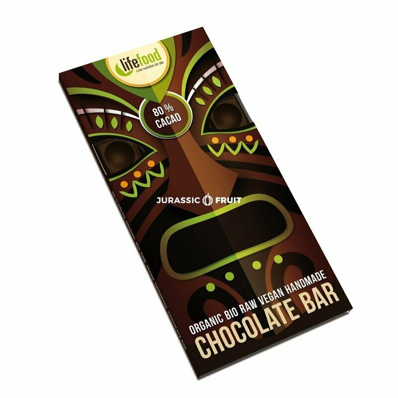 Organic Raw Chocolate 80% Cacao Lifefood