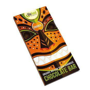 Organic Raw Chocolate Orange Lifefood 70g