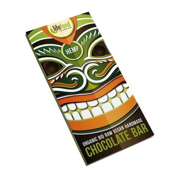 Organic Raw Chocolate Hemp Lifefood 70g